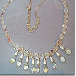 Crystal drop Necklace