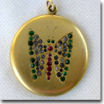 Butterfly Locket