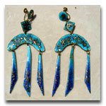 Blue & Gold Enamels