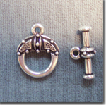 Pewter Toggle Clasps