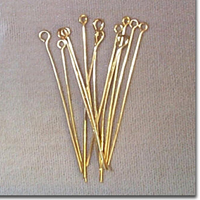 Gold Eye Pins