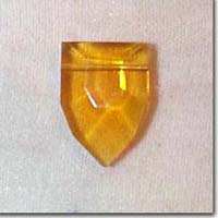 Amber Glass Pendant