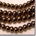 Brown Satin Pearls