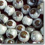 Luster Brown Beads