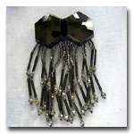 Vintage Fringed Buckle