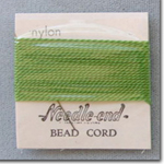 #4 Green Nylon Bead Cord
