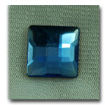 Faceted Blue Square